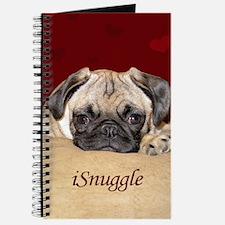 Adorable iSnuggle Pug Puppy Journal