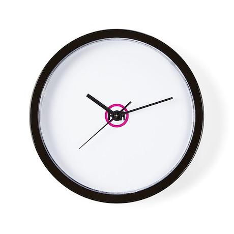 NO FUR Wall Clock