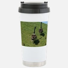 Geese Family with babie Stainless Steel Travel Mug