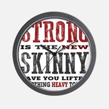 Strong is the New Skinny: Have You Lift Wall Clock