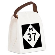 Highway M-37 Canvas Lunch Bag