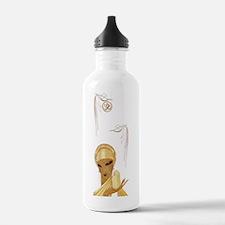 Art Deco Lady Serenity Water Bottle