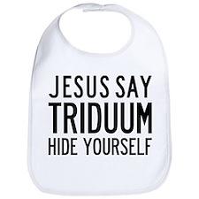 Jesus Say Triduum Easter Breakfast Bib