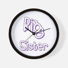 Big Sister (Purple) Wall Clock