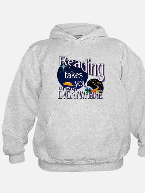 Reading Takes You Everywhere BL Sweatshirt