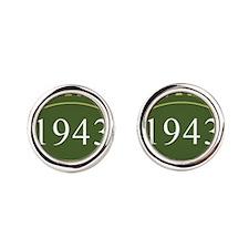Vintage 1943 (Green) Cufflinks
