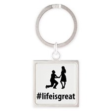 Proposing-For-Marriage-06-A Square Keychain