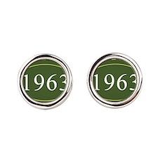 Vintage 1963 (Green) Cufflinks