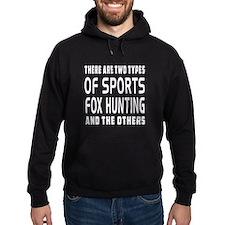 Fox Hunting designs Hoodie