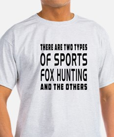 Fox Hunting designs T-Shirt