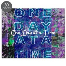 One Day at a Time Art Puzzle