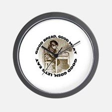 Mealtime Prayer Wall Clock