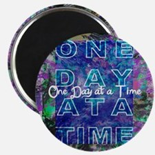 One Day at a Time Art Magnet