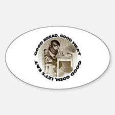 Mealtime Prayer Oval Decal