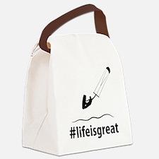 Kitesurfing-06-A Canvas Lunch Bag