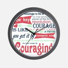 Couraging Wall Clock