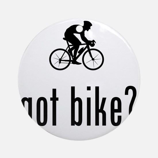 Bicycle-Racer-02-A Round Ornament