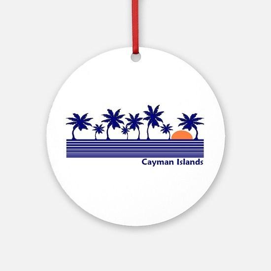 Cayman Islands Ornament (Round)