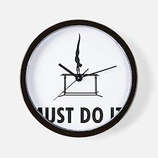 Gymnastic--Parallel-Bars-02-08-A Wall Clock