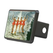 4 waterskiers Hitch Cover
