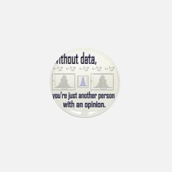 without data Mini Button