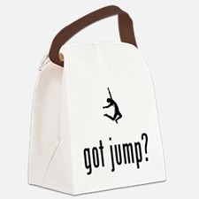 Long-Jump-02-A Canvas Lunch Bag