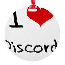 I Love Discord Ornament