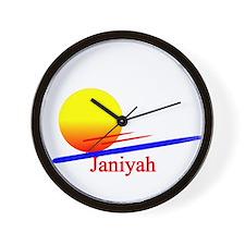 Janiyah Wall Clock