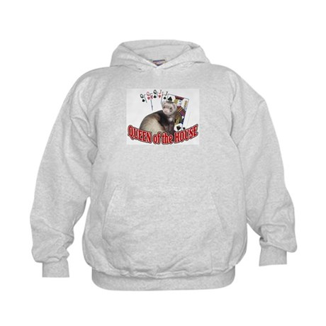 QUEEN of the HOUSE Kids Hoodie
