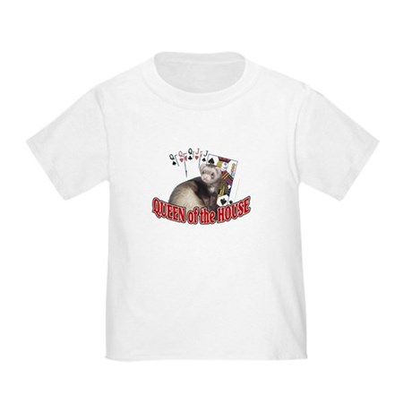 QUEEN of the HOUSE Toddler T-Shirt