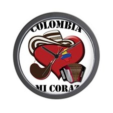 Colombia_Corazon Wall Clock