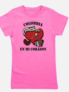 Colombia_Corazon Girl's Tee