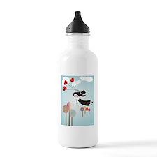 Catholic Nun Art Water Bottle