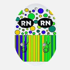 Registered Nurse Oval Ornament