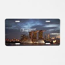 Singapore_5x3rect_sticker_G Aluminum License Plate