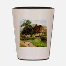 Old English Country Cottage Shot Glass