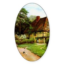 Old English Country Cottage Decal