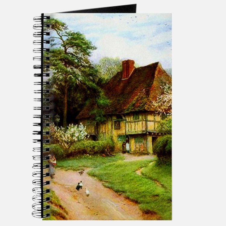 Old English Country Cottage Journal