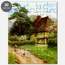 Old English Country Cottage Puzzle