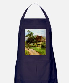 Old English Country Cottage Apron (dark)