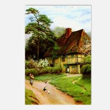 Old English Country Cotta Postcards (Package of 8)