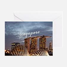 Singapore_6x6_GardensByTheBay Greeting Card