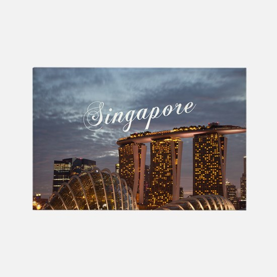 Singapore_6x6_GardensByTheBay Rectangle Magnet