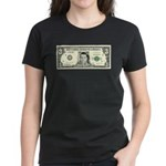 $3 Bill Women's Dark T-Shirt