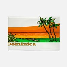 Dominica Rectangle Magnet