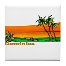 Dominica Tile Coaster