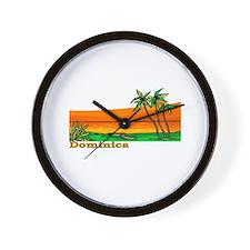 Dominica Wall Clock