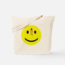 Dead Smiley Tote Bag