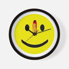 Dead Smiley Wall Clock