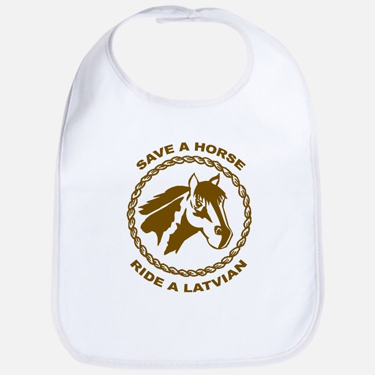 Ride A Latvian Bib